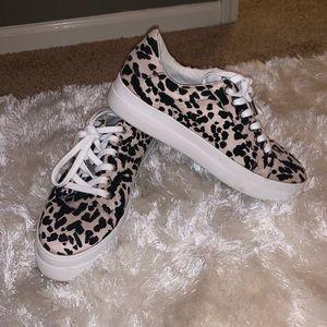 Top Shop leopard sneakers